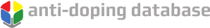 Anti-Doping Database Logo